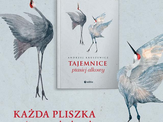 """Książka """"Tajemnice ptasiej alkowy"""" autorstwa Andrzeja Kruszewicza"""