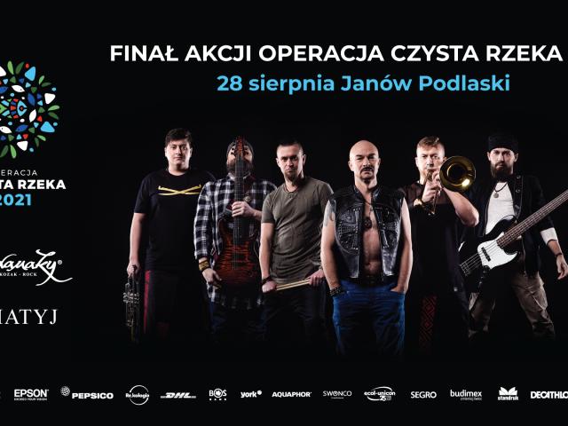 """Finał akcji """"Operacja Czysta Rzeka 2021"""" wJanowie Podlaskim"""